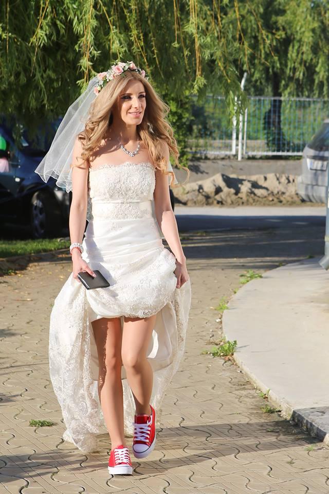 nunta in tenesi-nunta in conversi, pantofi nunta